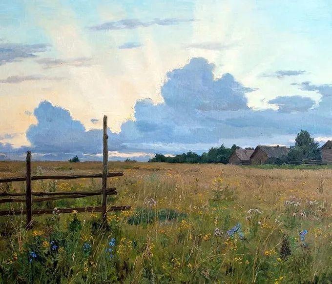 """岁月静好,俄罗斯"""" 小希施金 """" 的自然风景油画,美极了!插图57"""