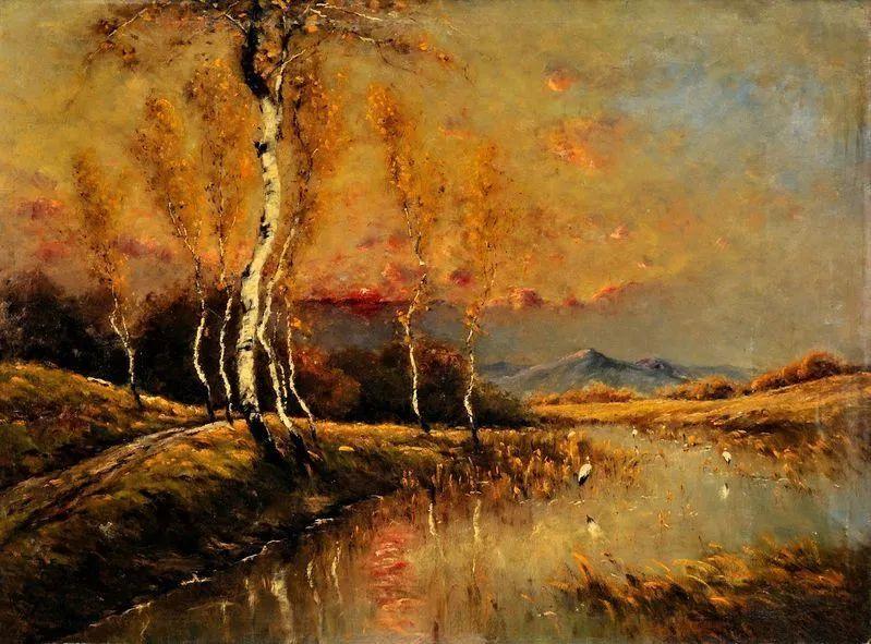 匈牙利杰出的自然风景画家——贝拉·斯潘依插图13