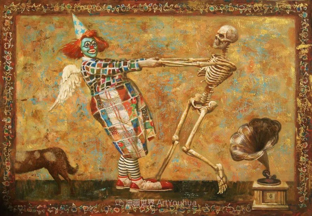 古典风格蛋彩画,俄罗斯画家弗拉基米尔·亚历山德罗维奇插图71