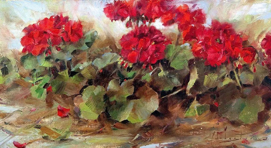 自学油画,她用真情描绘着周围的世界之美插图5