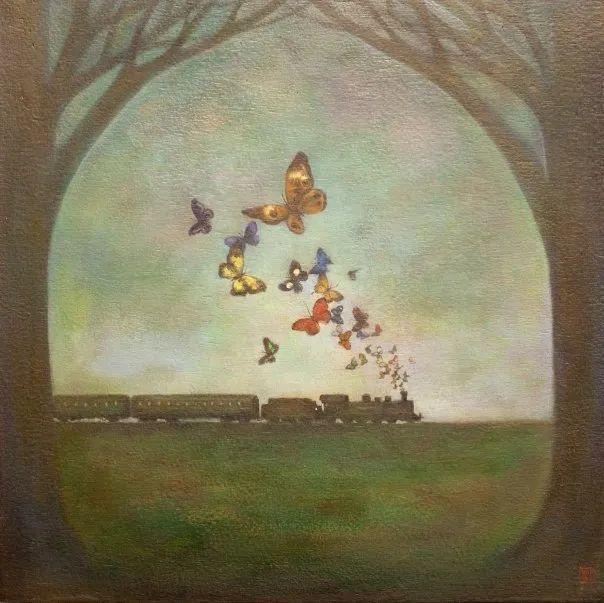 越南画家杜伊·怀恩的空灵绘画插图109