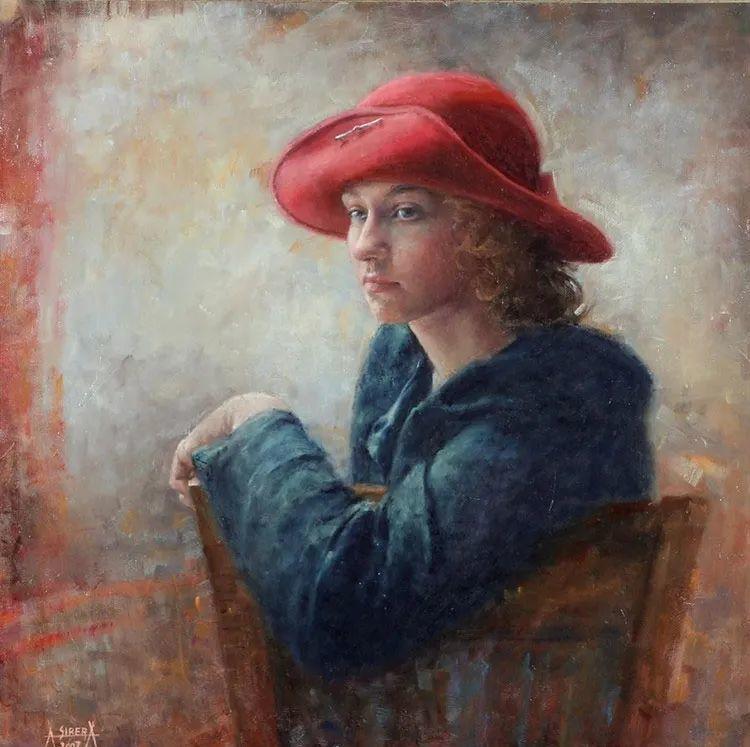 具象现实主义,波兰女画家阿丽娜·西贝拉插图1