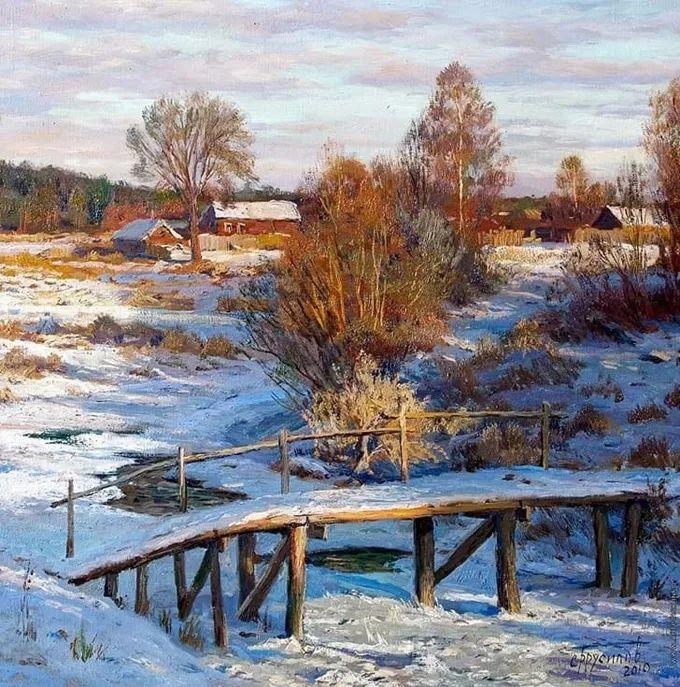 """岁月静好,俄罗斯"""" 小希施金 """" 的自然风景油画,美极了!插图101"""