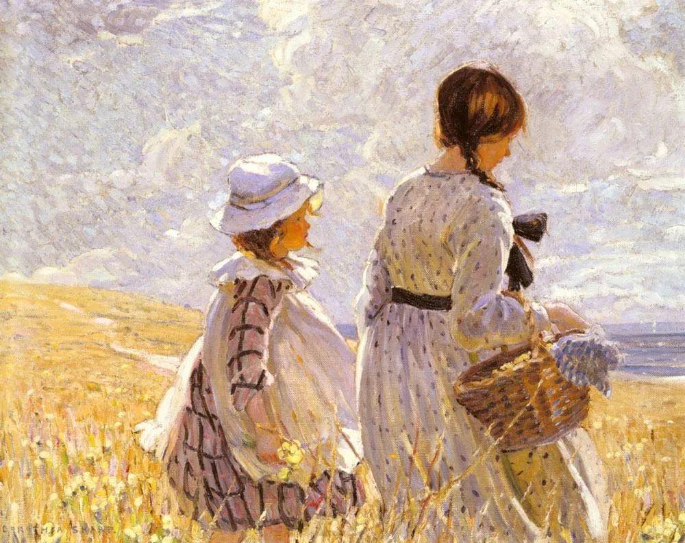 充满着写意风格的绘画,20世纪英国最伟大的女画家之一夏普插图35