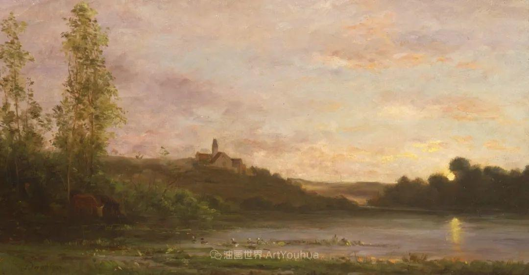 法国著名巴比松派风景画家——杜比尼插图117