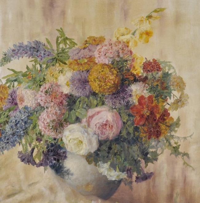 学医的他,37岁才开始自学绘画,笔下五颜六色的花束,太美了!插图55