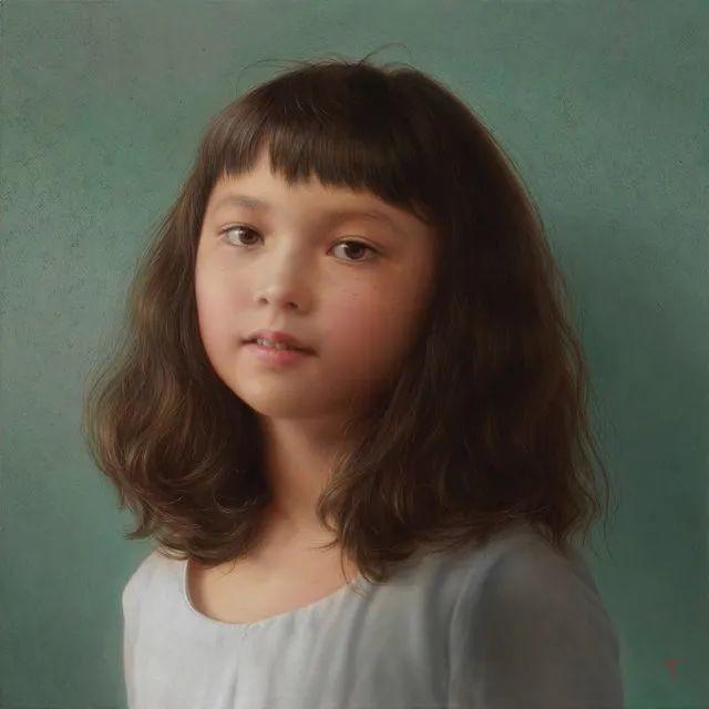 """""""日版冷军""""笔下的美少女作品,古典唯美堪比高清照片,很震撼!插图33"""