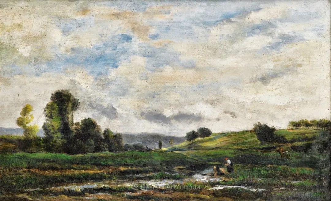 法国著名巴比松派风景画家——杜比尼插图55