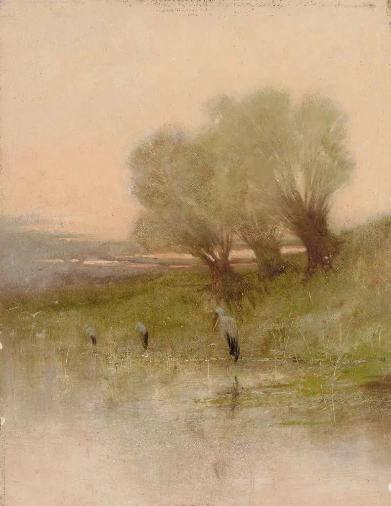 匈牙利杰出的自然风景画家——贝拉·斯潘依插图101