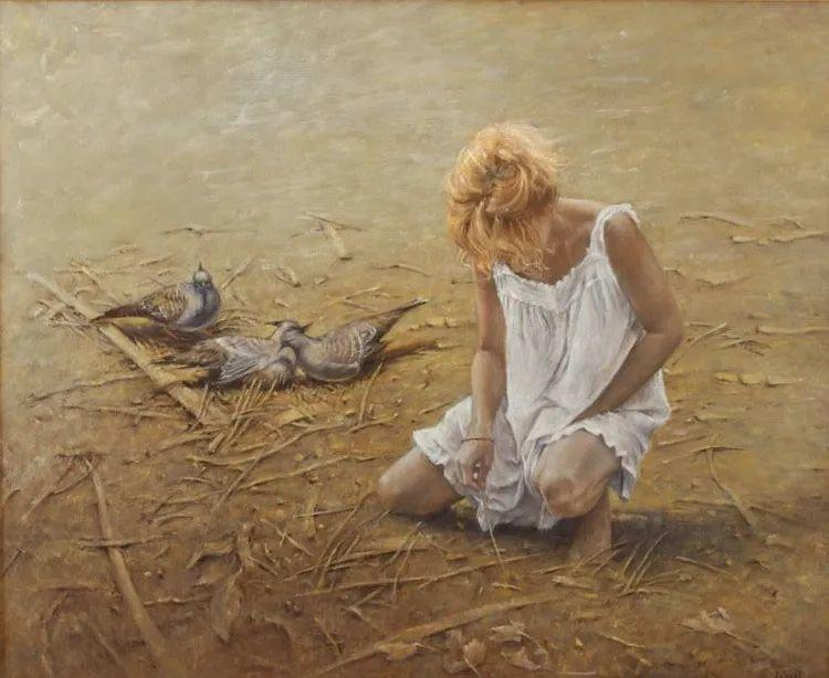 具象现实主义,波兰女画家阿丽娜·西贝拉插图69