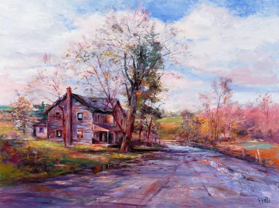 风景油画丨美国艺术家乔治·加洛的风景油画作品插图15