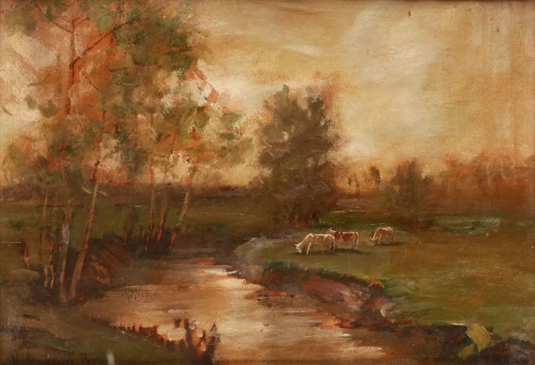 匈牙利杰出的自然风景画家——贝拉·斯潘依插图55