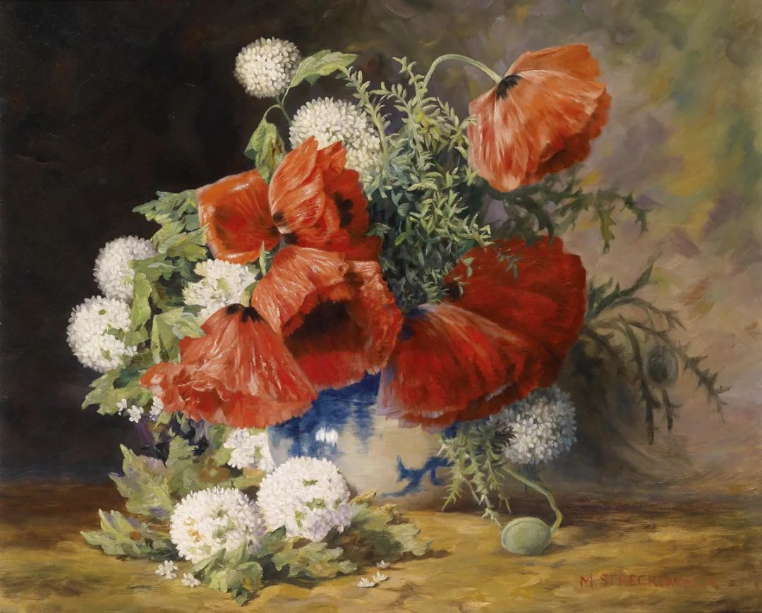 学医的他,37岁才开始自学绘画,笔下五颜六色的花束,太美了!插图41