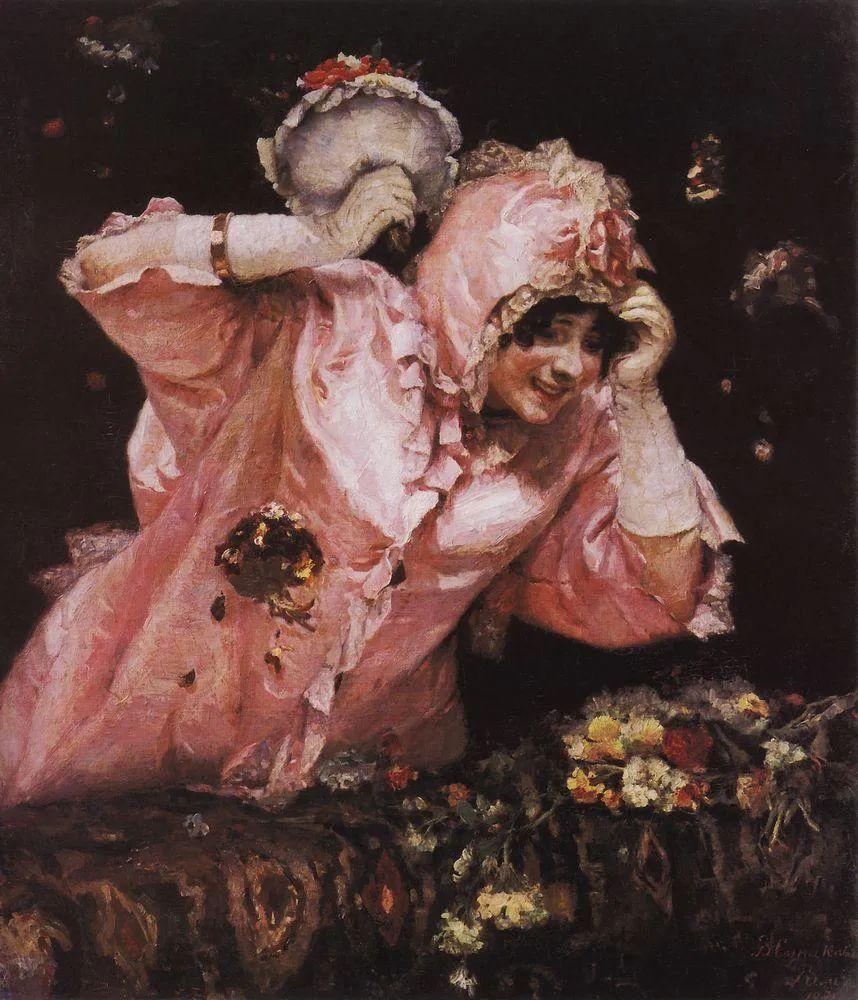 俄罗斯画坛先驱人物,瓦西里·苏里科夫人物作品选粹插图11