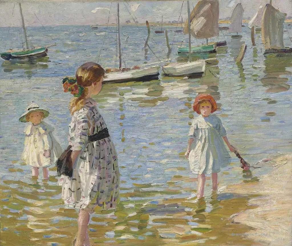 充满着写意风格的绘画,20世纪英国最伟大的女画家之一夏普插图43