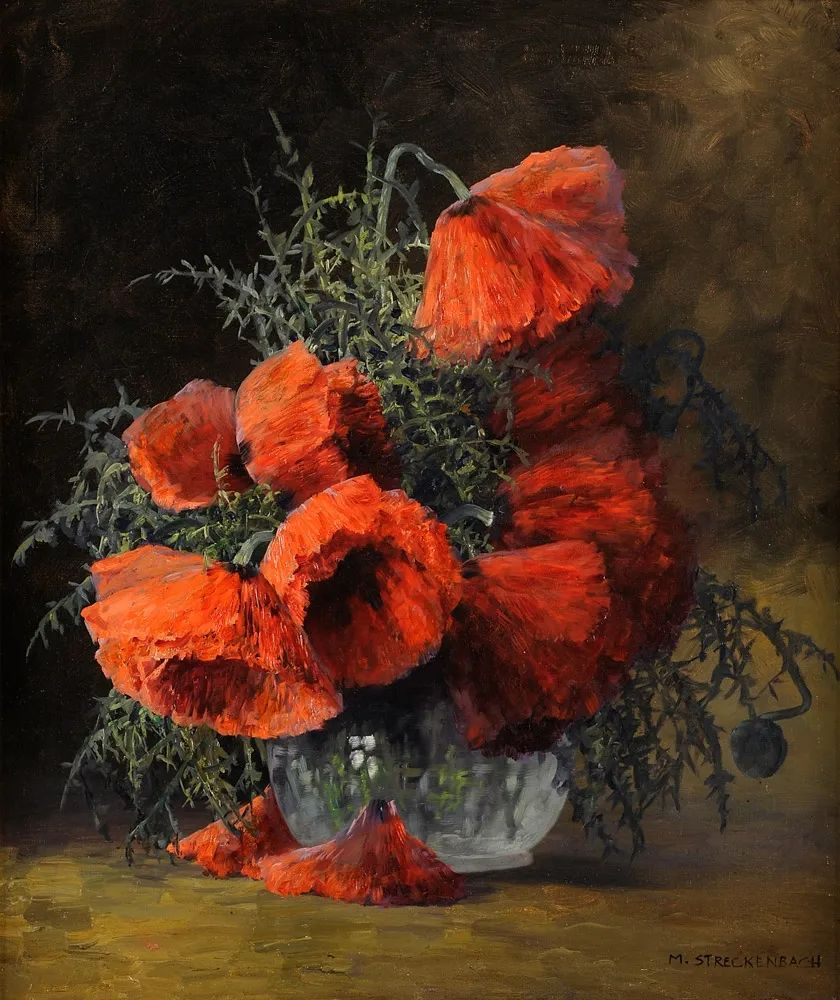 学医的他,37岁才开始自学绘画,笔下五颜六色的花束,太美了!插图27
