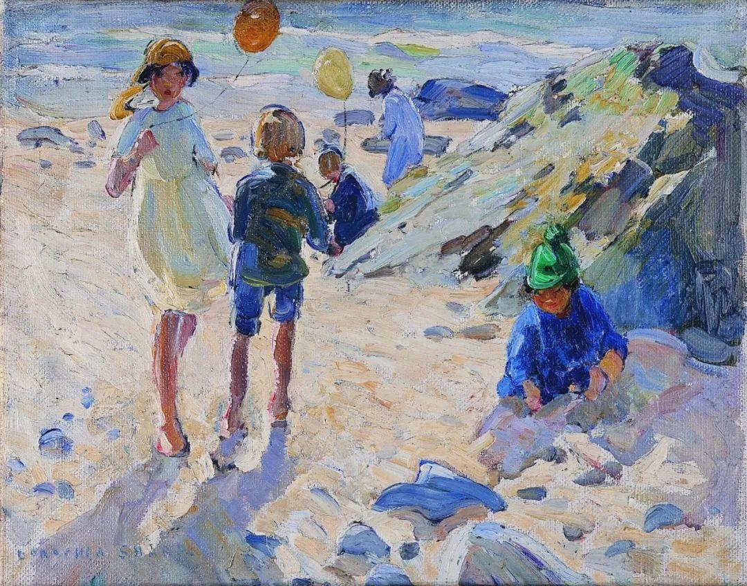 充满着写意风格的绘画,20世纪英国最伟大的女画家之一夏普插图19
