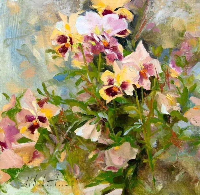 自学油画,她用真情描绘着周围的世界之美插图51