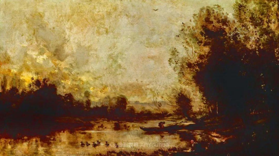 法国著名巴比松派风景画家——杜比尼插图135