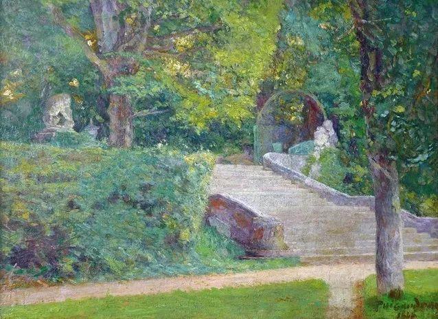高更和德加的好友,法国画家费迪南德插图15