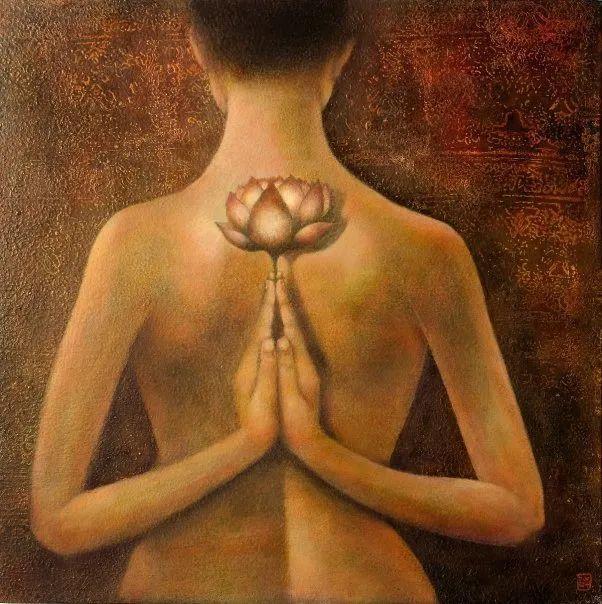 越南画家杜伊·怀恩的空灵绘画插图43