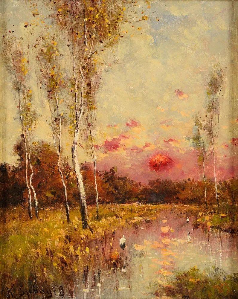 匈牙利杰出的自然风景画家——贝拉·斯潘依插图21
