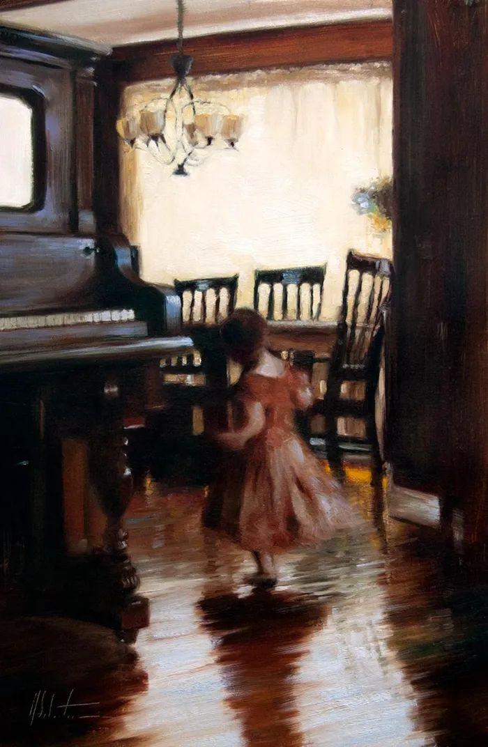 自学油画,她用真情描绘着周围的世界之美插图77