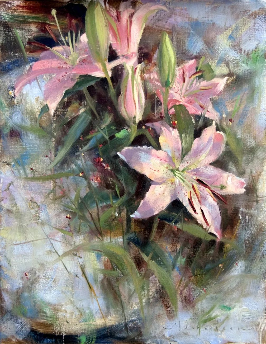 自学油画,她用真情描绘着周围的世界之美插图47