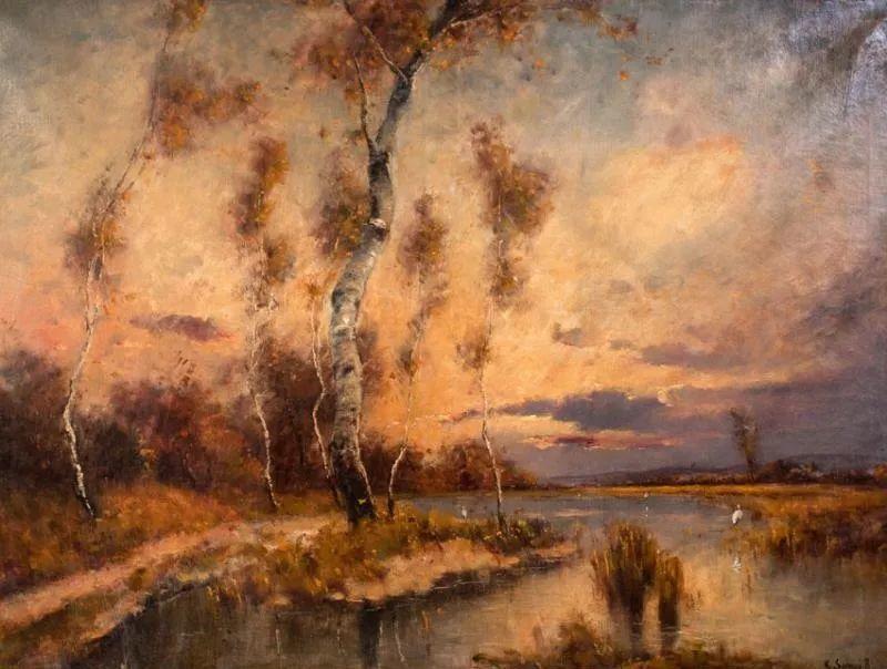 匈牙利杰出的自然风景画家——贝拉·斯潘依插图29