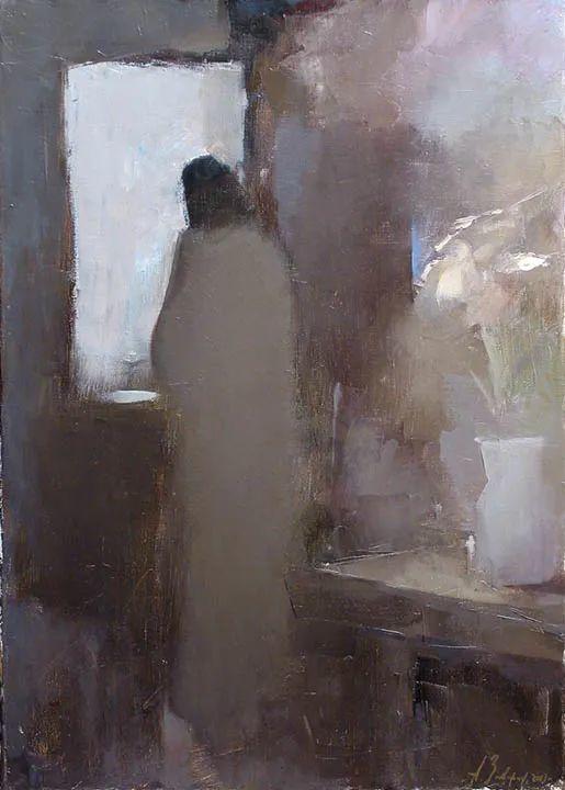 笔触率性,优雅朦胧的风景油画,迷人!插图137
