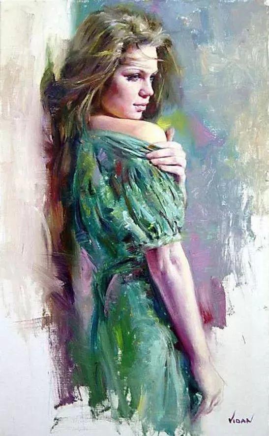 最富浪漫表现力的艺术家Vidan油画艺术作品插图77