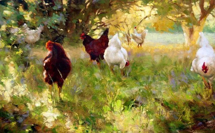 自学油画,她用真情描绘着周围的世界之美插图25