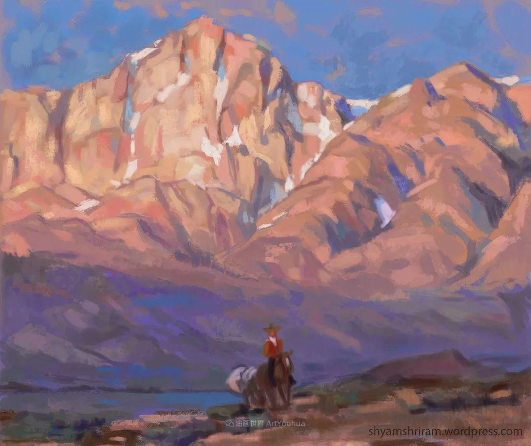 大气的风景,他对构图和色彩有着非凡的眼光!插图41