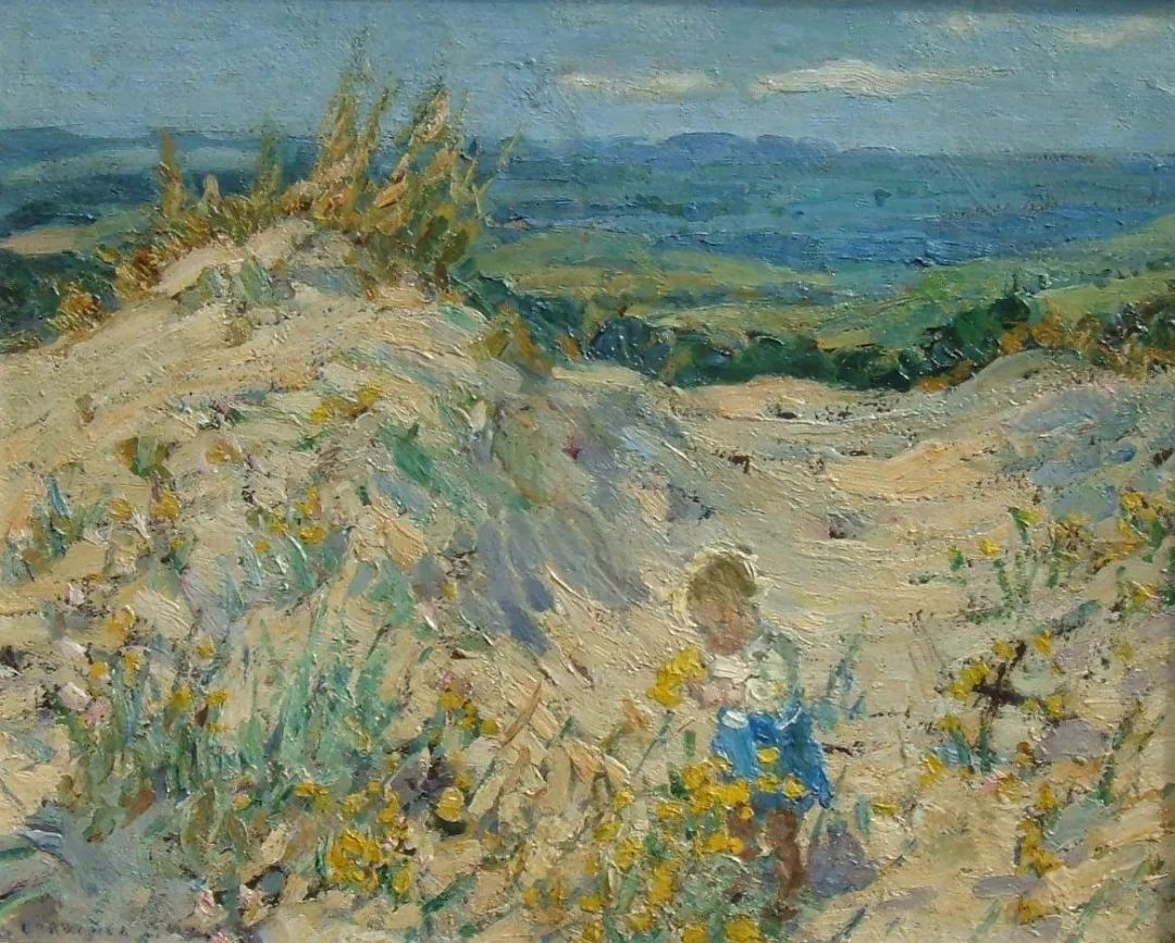 充满着写意风格的绘画,20世纪英国最伟大的女画家之一夏普插图45