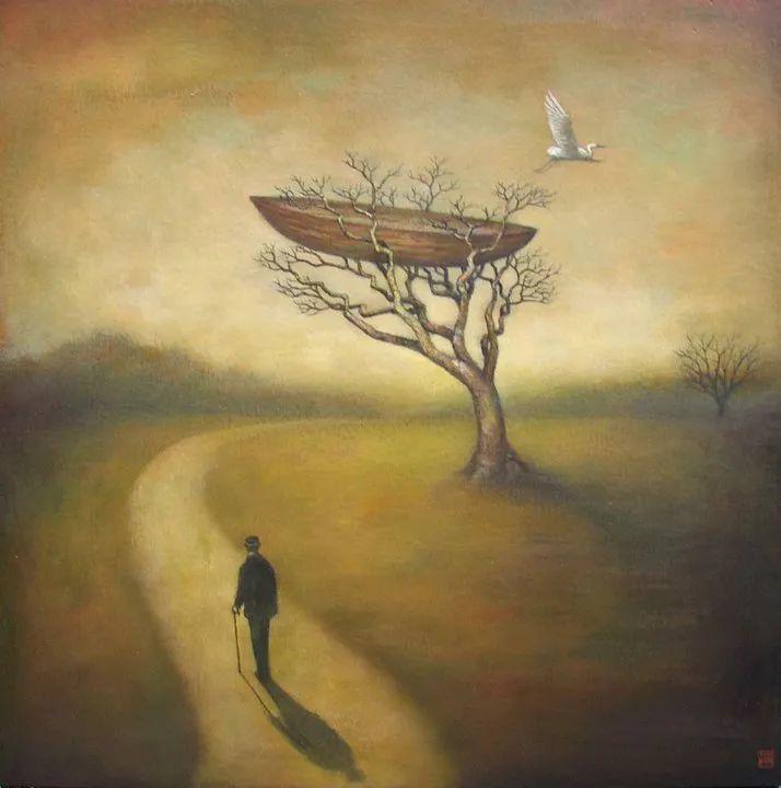 越南画家杜伊·怀恩的空灵绘画插图55