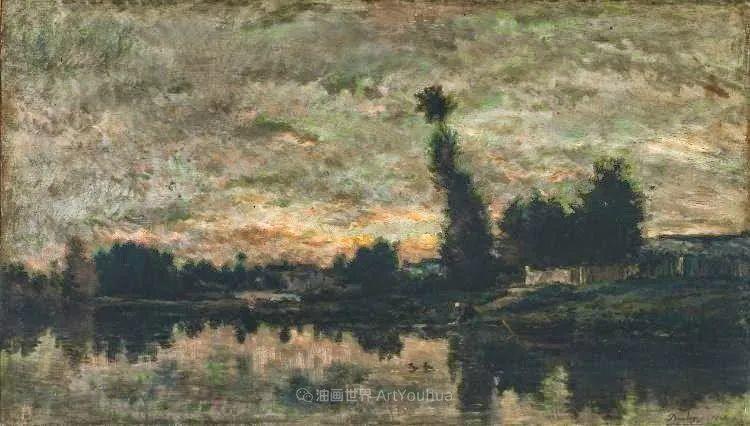 法国著名巴比松派风景画家——杜比尼插图109