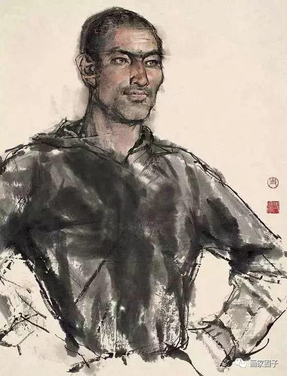 他不食人间烟火为画出家,妻子独守空房15年,画坛一代传奇插图25