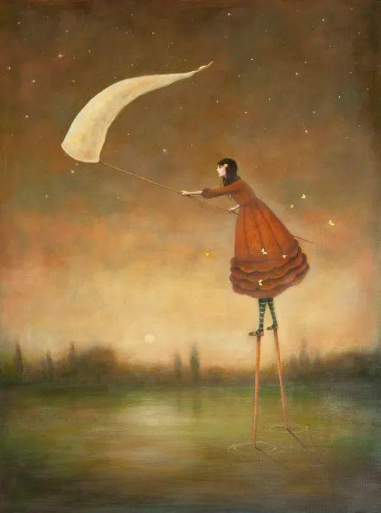 越南画家杜伊·怀恩的空灵绘画插图29
