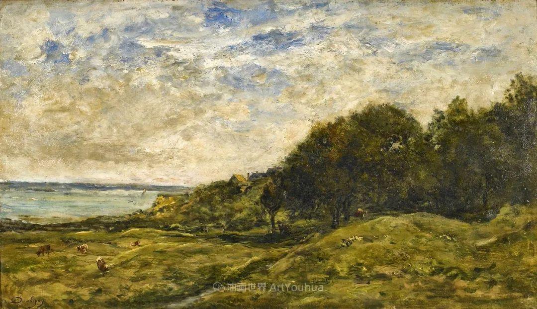 法国著名巴比松派风景画家——杜比尼插图43