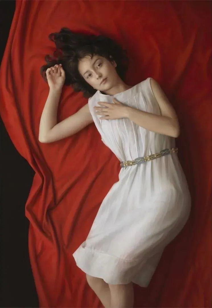 """""""日版冷军""""笔下的美少女作品,古典唯美堪比高清照片,很震撼!插图29"""