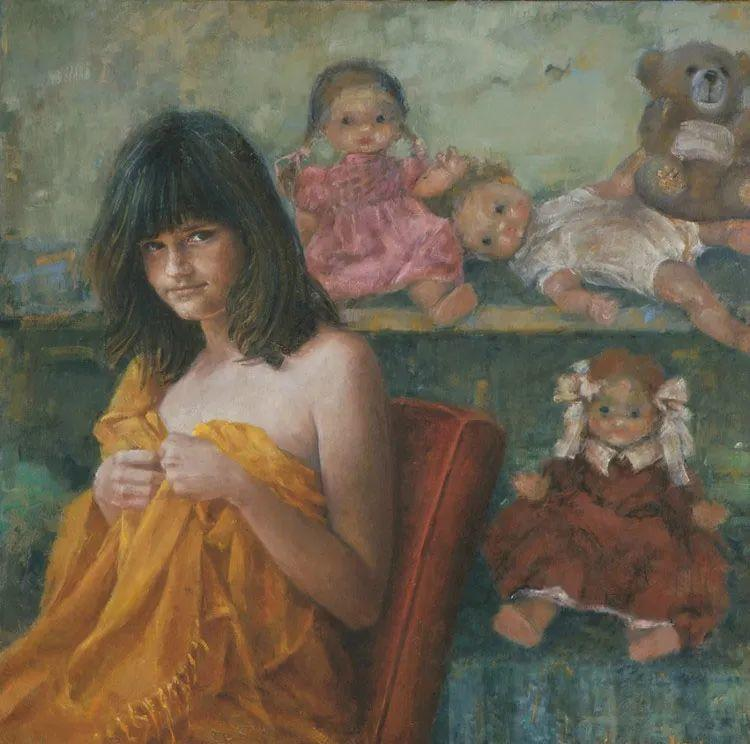 具象现实主义,波兰女画家阿丽娜·西贝拉插图51