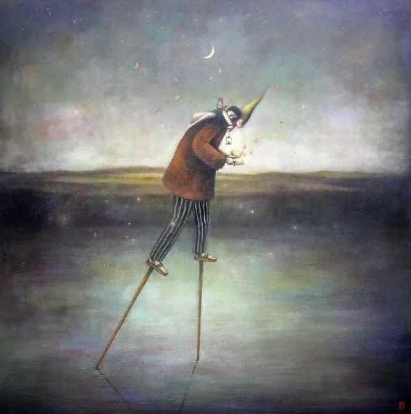 越南画家杜伊·怀恩的空灵绘画插图125