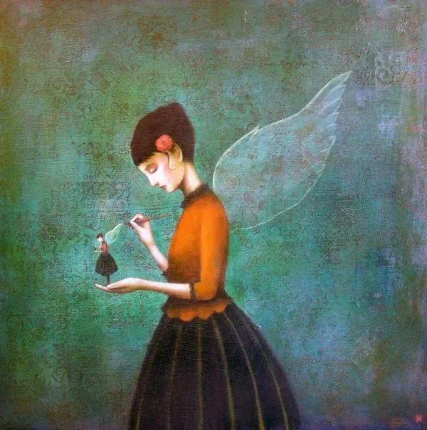 越南画家杜伊·怀恩的空灵绘画插图39