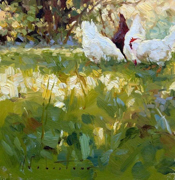 自学油画,她用真情描绘着周围的世界之美插图31
