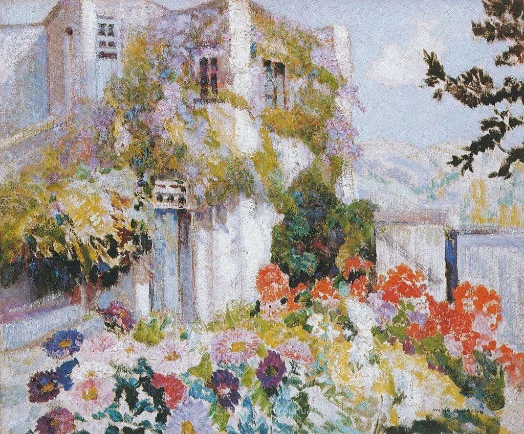 从律师到画家,法国后印象派画家维克多·查雷顿插图21