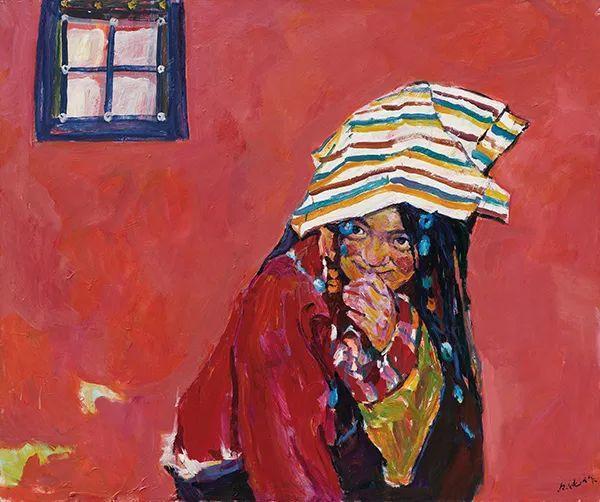 浓烈、明亮、斑斓、恣肆的色彩,这油画美极了插图37