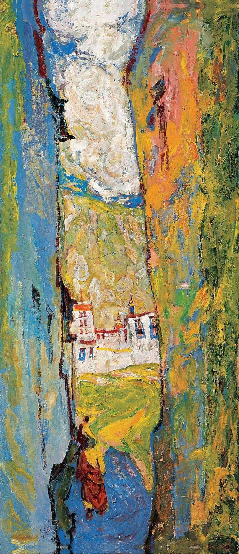 浓烈、明亮、斑斓、恣肆的色彩,这油画美极了插图77