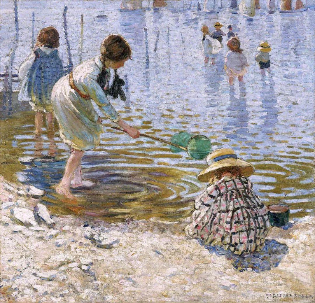 充满着写意风格的绘画,20世纪英国最伟大的女画家之一夏普插图63