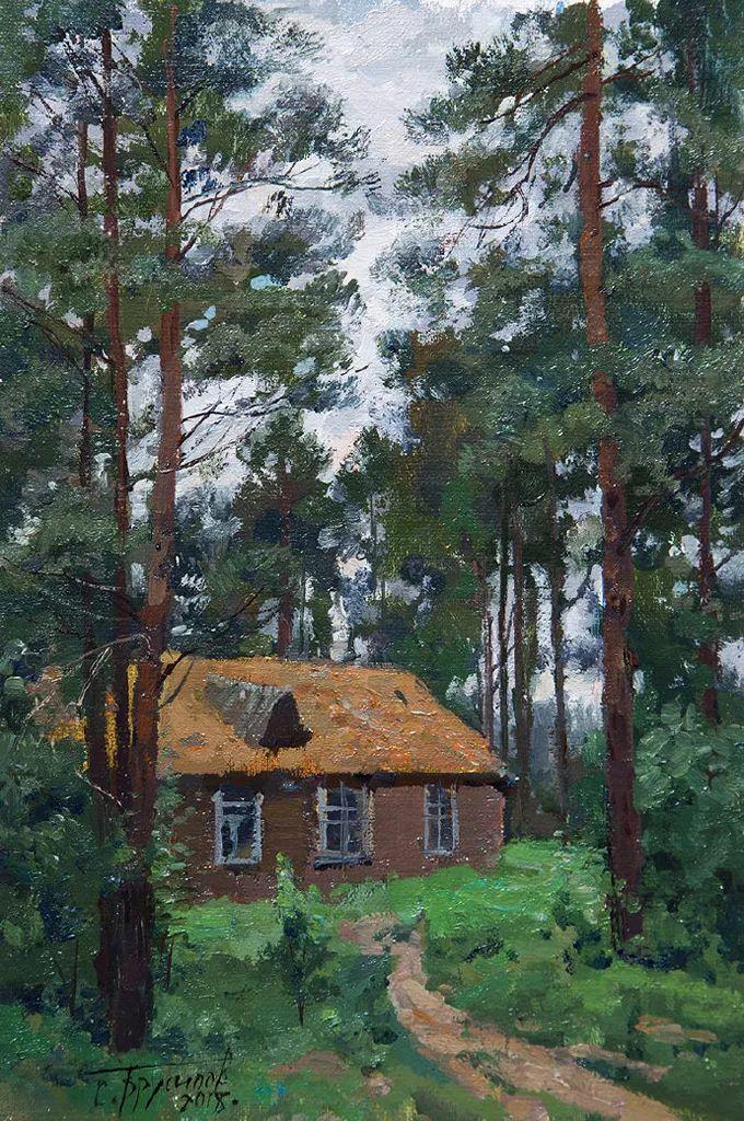 """岁月静好,俄罗斯"""" 小希施金 """" 的自然风景油画,美极了!插图119"""