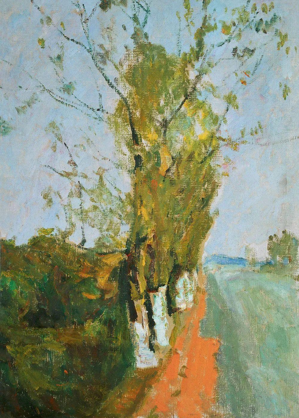 浓烈、明亮、斑斓、恣肆的色彩,这油画美极了插图81
